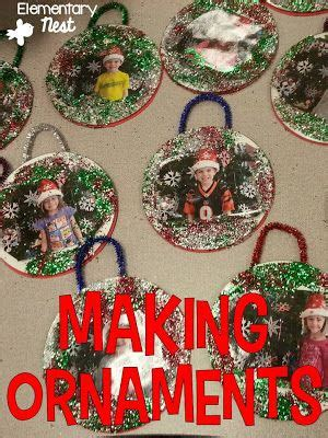 making ornaments   primary classroom student