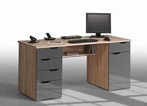 Bureau Informatique Design : bureau informatique design nice bureaux adulte enfant meubles bureaux ~ Teatrodelosmanantiales.com Idées de Décoration