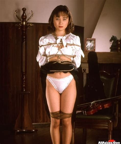 AllAsians Roped Up Young Asian schoolgirl loves bondage