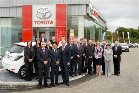 Toyota Stafford by Macrae Officially Opened The Authorised Toyota