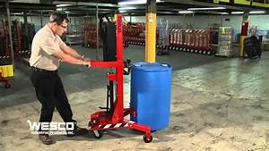 Wesco Ergonomic Drum Handler DM 1100 High Reach Model