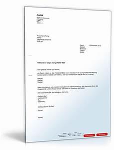 Rechnung Reklamieren : reklamationsschreiben defekte ware eckventil waschmaschine ~ Themetempest.com Abrechnung