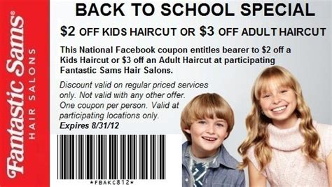 Snip It Haircut Coupons