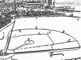 Baseball Coloring Printable Field Princess Gcssi sketch template