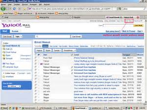 Yahoo! Mail Inbox
