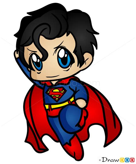 draw superman superheroes