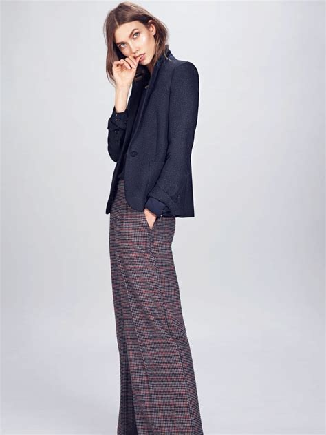 Karlie Kloss Stars Mango Winter Catalogue Page