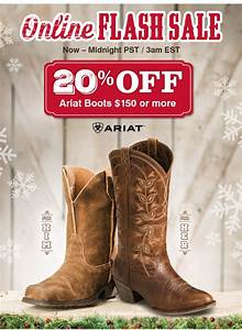 exceptional boot barn coupons for you flash sale only With ariat boots coupons code