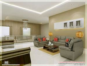 Awesome, 3d, Interior, Renderings, -, Kerala, Home, Design, And, Floor, Plans
