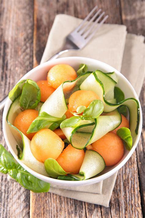 comment cuisiner les concombres melon recettes avec du melon et conseils pour cuisiner