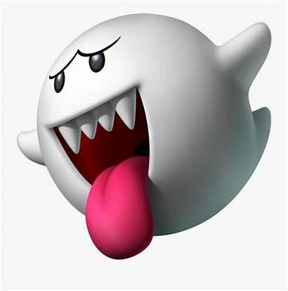 Mario Boo Ghost Super Clipart Transparent Clipartkey