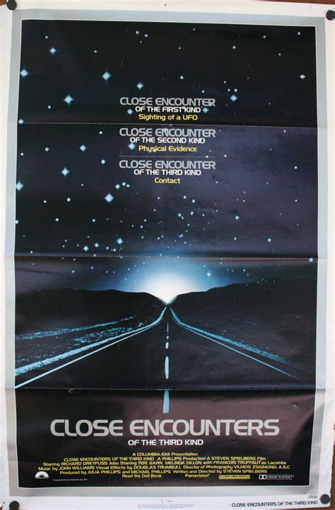 CLOSE ENCOUNTERS OF THE THIRD KIND Spielberg classic