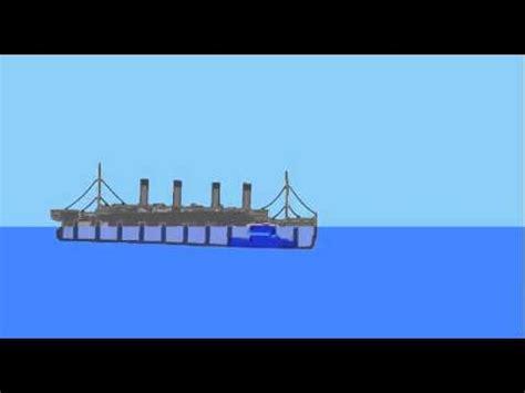 Titanic Sinking Simulator 2 by Sinking Simulator Rms Titanic Sinking