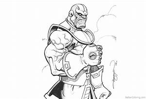 marvel thanos coloring pages fresh black panther coloring