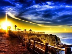 Spectacular, Sunset, Wide, Wallpaper, 589610, Wallpapers13, Com