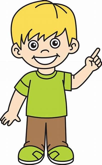 Boy Clipart Clip Young Boys Happy Cliparts