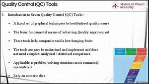 7 Qc Tools For Successful Six Sigma Projects