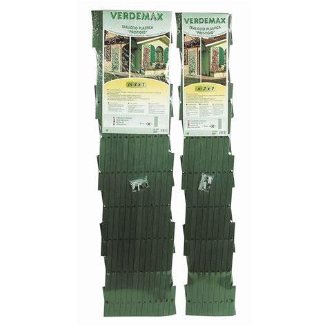 traliccio estensibile verdemax traliccio estensibile pvc shop su brico io