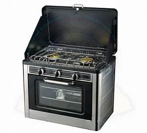 Four à Gaz Encastrable : cuisini re de camping mobile gaz avec four et plaque de ~ Premium-room.com Idées de Décoration