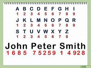 Numerologie Namen Berechnen : deine namenszahl in der numerologie berechnen wikihow ~ Themetempest.com Abrechnung