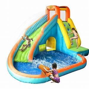 Jeux Gonflable Pour Piscine : happy hop ch teau aire de jeux gonflable aquatique avec ~ Dailycaller-alerts.com Idées de Décoration