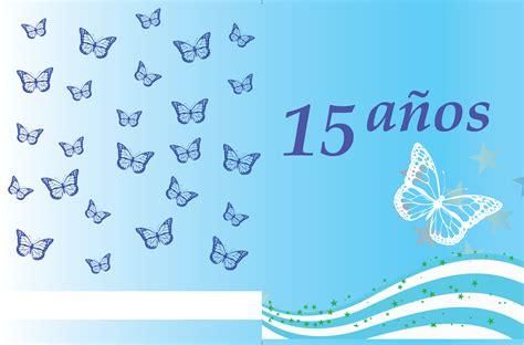 fondos 15 aos azul fondos para invitaci 243 nes de 15 a 241 os azul imagui