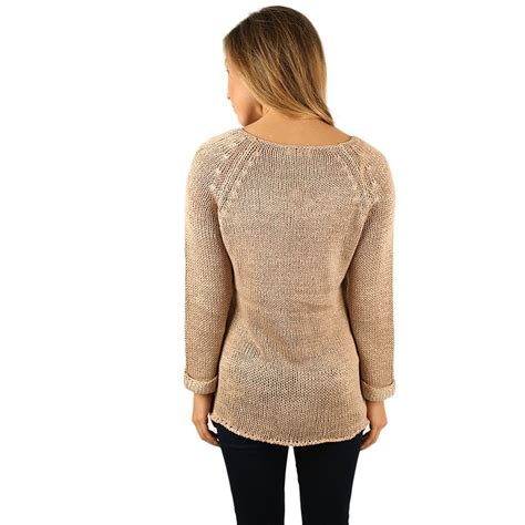 taupe sweater cozy in the city sweater taupe impressions boutique