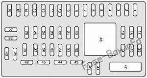 Fuse Box Diagram Mercury Sable  2008
