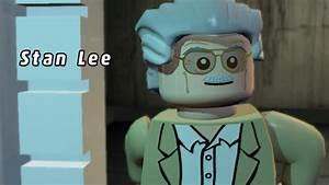 LEGO Marvel Super Heroes - Stan Lee Gameplay - YouTube