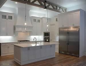 Simple, White, Kitchen, Home, Tour