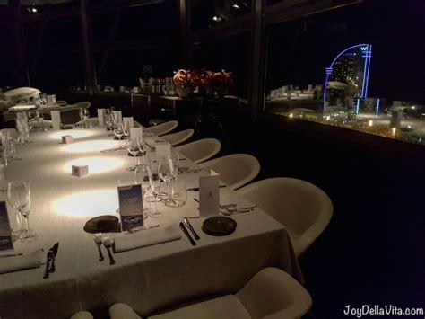 cuisine mar torre d alta mar 360 restaurant in barcelona della