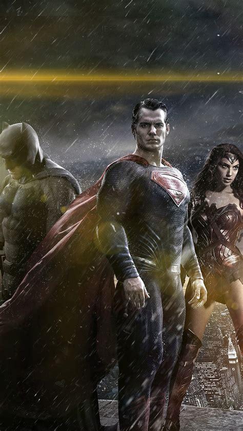 papersco iphone wallpaper  batman superman poster