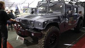 Surplus Military Humvee To H1 Hummer Conversion At Sema
