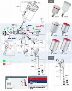 Satajet 3000 B Hvlp Digital Gravity Spray Gun Discontinued