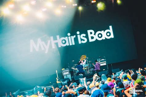 Hair Is by My Hair Is Bad Fujirock Express 18 フジロック会場から最新レポートをお届け
