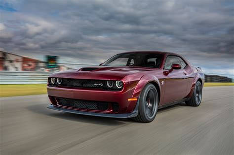 New Design + Speed With Dodge Challenger Srt Hellcat Widebody