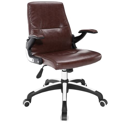 premier modern high back vinyl upholstered office chair