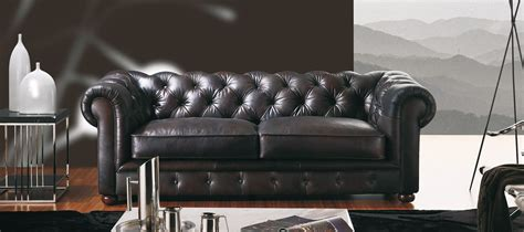 chesterfield canape canapé cuir chesterfield