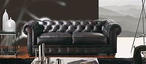 canape cuir chesterfield With canape chesterfield cuir solde