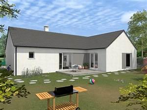 Style De Maison : style de maison plain pied ~ Dallasstarsshop.com Idées de Décoration