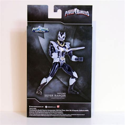 BANDAI POWER RANGERS IN SPACE PSYCHO SILVER RANGER LEGACY ...