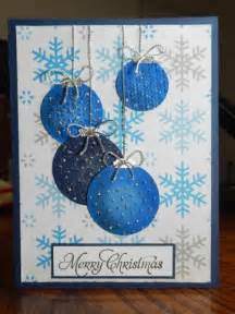 Handmade Stamped Christmas Cards