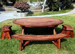 Table Jardin En Bois : table de jardin en bois le choix respectueux ~ Teatrodelosmanantiales.com Idées de Décoration