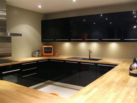 cuisine laque noir cuisine noir laque brico depot construction