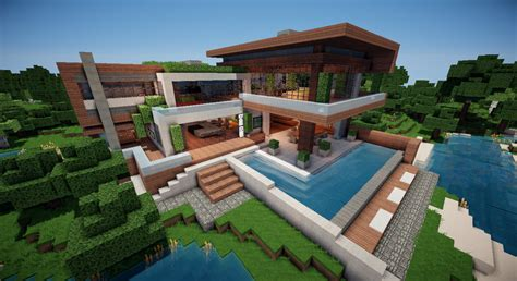 Minecraft Moderne Häuser Map bright and modern moderne minecraft h 228 user modernes haus
