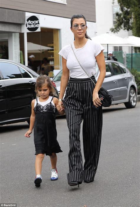 Kourtney Kardashian matches with daughter Penelope in LA ...