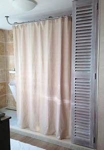 Barre Rideau De Douche : 49 best le rideau de douche sa place dans de belles ~ Dailycaller-alerts.com Idées de Décoration