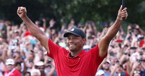 Tiger Woods Wins First Tournament Since 2013   TheSportster