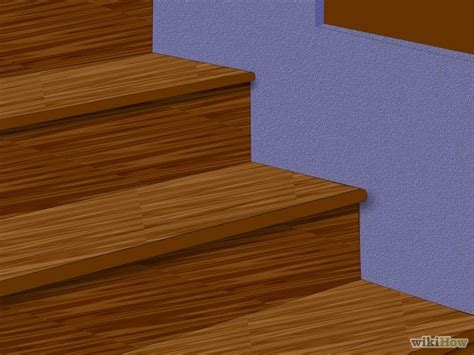 how to install laminate flooring step by step 3 ways to install laminate flooring on stairs wikihow