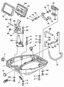 1996 Yamaha Bottom Cowling Parts For 9 9 Hp T9 9elhu